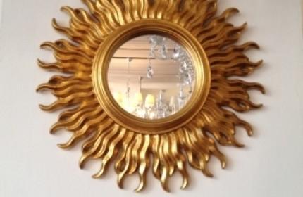 Antiquariato milano noleggio lampadari antiquariato milano - Specchio a forma di sole ...